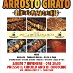 ARROSTO GIRATO 7 NOVEMBRE 2015